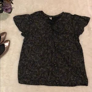ON paisley patterned blouse
